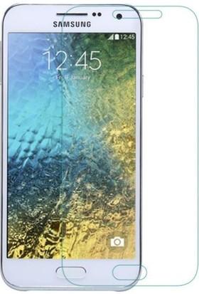 Letstur Samsung Galaxy E5 Temperli Cam Ekran Koruyucu Film