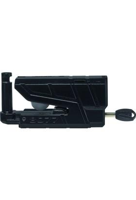 Abus 8077 Granit Detecto X-Plus Disk Kilidi Siyah