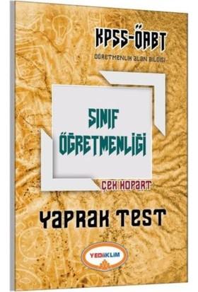 Yediiklim Yayınları Öabt 2017 Sınıf Öğretmenliği Çek Kopart Yaprak Test