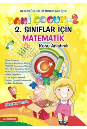 Altın Nokta Dahi Çocuk 2. Sınıflar İçin Matematik Konu Anlatımlı