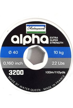 Shakespeare Alpha Black Misina (100 mt)