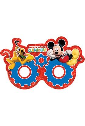 Tahtakale Toptancısı Mickey Mause Playful Kağıt Maske (6 Adet)