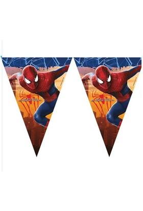 Tahtakale Toptancısı Spiderman Temalı Flama Bayrak