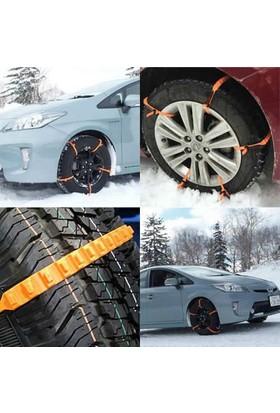 Kar-Maks Araba Oto Araç Lastik Kar Buz Zinciri Pratik Kelepçesi Kelepçe Paleti Klipsli 10 parça