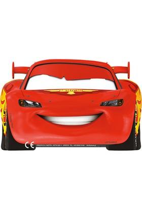 Tahtakale Toptancısı Cars Formula Kağıt Maske Kağıt Maske (6 Adet)