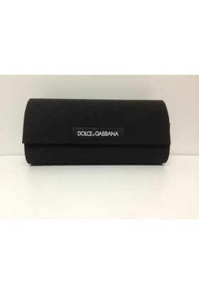 Dolce & Gabbana Large Siyah Kumaş Güneş Gözlüğü Kabı Kılıfı