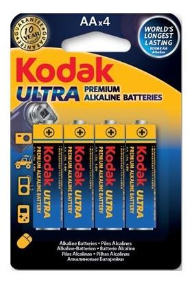 Kodak Ultra Premium Kalem Pil 4 Adet