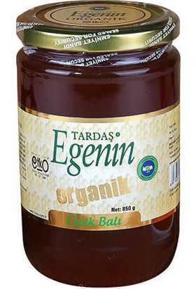 Tardaş Egenin Organik Çiçek Balı 850 Gr