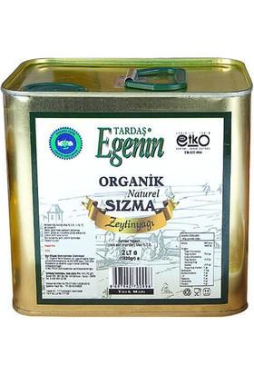 Tardaş Egenin Organik Sızma Zeytinyağı 2 Lt Teneke