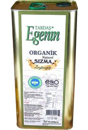 Tardaş Egenin Organik Sızma Zeytinyağı 5 Lt Teneke