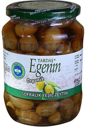 Tardaş Egenin Organik Sofralık Yeşil Zeytin Kalamata 420 Gr