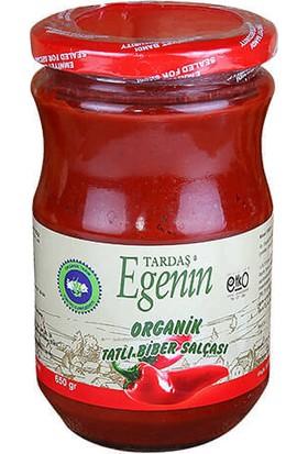 Tardaş Egenin Organik Tatlı Biber Salçası 660 gr