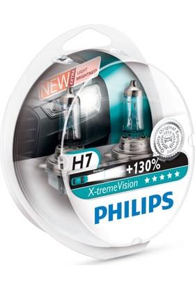 Philips H7 XTREME VISION Ampül Seti + % 100