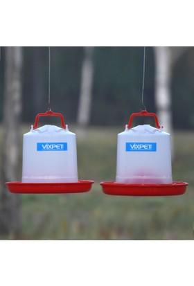 Vixpet Tavuk - Civciv Yemlik ve Suluk Takımı TE 4 kg Seperatörlü