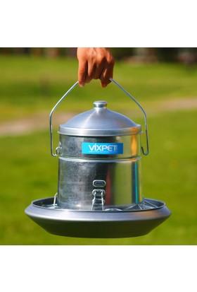 Vixpet Tavuk Yemliği Metal 5 kg