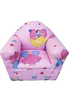 Sezer Toys Çocuk Ahşap Koltuk Araba Prenses