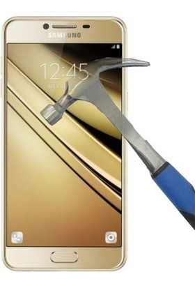 Nokta Samsung Galaxy C5 Ekran Koruyucu Cam