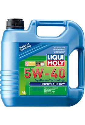 Liqui Moly 5W40 4 Litre Leichtlauf Hc7 Motor Yağı