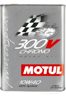 Motul 300V Chrono 10W-40 2 Litre Motor Yağı ( Üretim Yılı: 2019 )