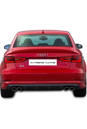 Xt Audi A3 8V Sedan S3 Arka Tampon Difüzör