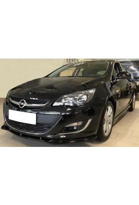 Xt Opel Astra J Makyajlı Ön Tampon Lip