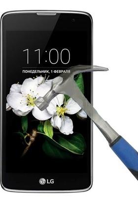 Teleplus LG K7 Temperli Cam Ekran Koruyucu Cam Ekran Koruyucu