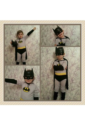 Leyaton Batman Kostümü 3 - 5 Yaş (Small)