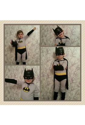 Leyaton Batman Kostümü 6 - 8 Yaş (Medium)