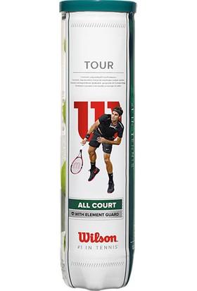 Wilson WRT115700 Tour All Court ITF Onaylı 4 lü Tenis Topu