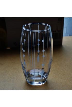 Paşabahçe 41020 Çizgi Damla 12 Adet Barel Su-Meşrubat Bardağı