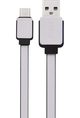 Syrox 2A TYPE-C USB Kablo(Renkli)