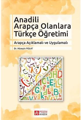 Anadili Arapça Olanlara Türkçe Öğretimi - Hüseyin Polat