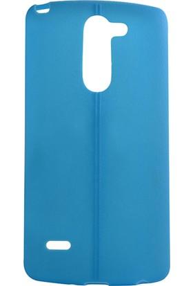 Darz LG G3 Stylus 0,2 Mm Tpu Deri Görünümlü Telefon Kılıfı