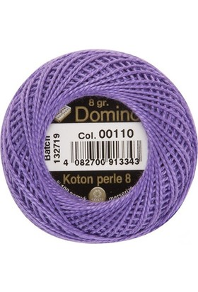 Coats Domino Koton Perle No:8 Nakış İpi 00110