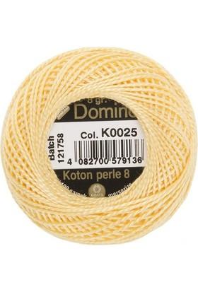 Coats Domino Koton Perle No:8 Nakış İpi K0025