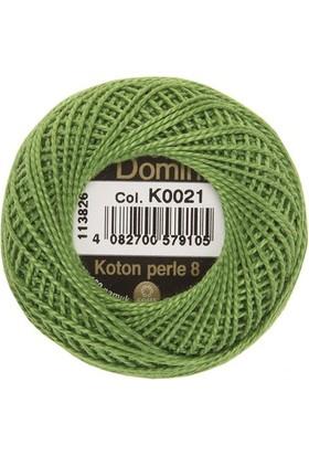 Coats Domino Koton Perle No:8 Nakış İpi K0021