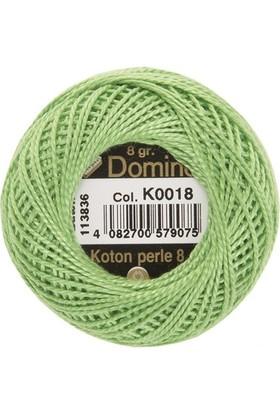 Coats Domino Koton Perle No:8 Nakış İpi K0018