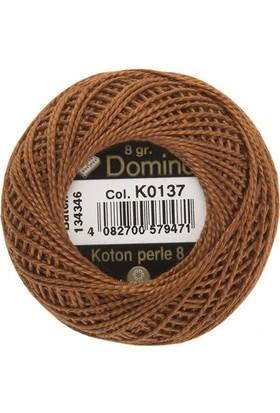 Coats Domino Koton Perle No:8 Nakış İpi K0137