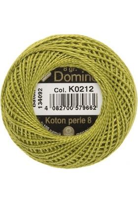 Coats Domino Koton Perle No:8 Nakış İpi K0212