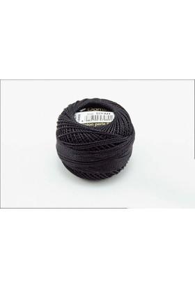 Coats Domino Koton Perle No:8 Nakış İpi Siyah