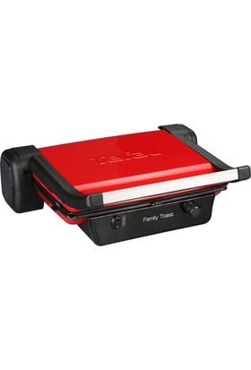 Tefal Family 6 Dilim Izgara Ve Tost Makinesi Kırmızı