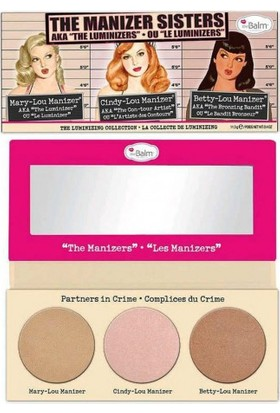 The Balm Manizer Sisters Palet