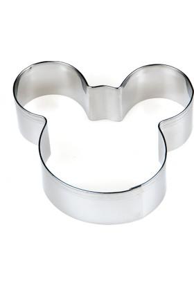 Elitparti Büyük Mickey Mouse Figürlü Metal Kurabiye Kalıbı