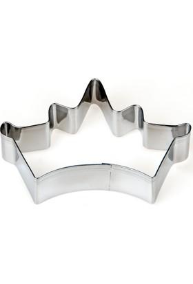 Elitparti Büyük Kral Tacı Figürlü Metal Kurabiye Kalıbı