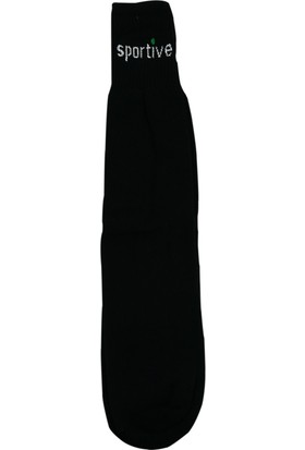 Sportive Topuksuz Kısa Havlu Çorap Siyah 630H17SYH2