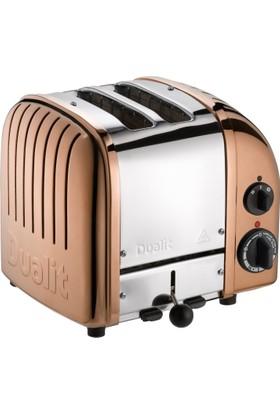 Dualit Classic 2 Hazneli Çelik - Bakır Tasarım Ekmek Kızartma Makinesi