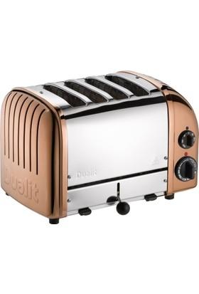 Dualit Classic 4 Hazneli Çelik - Bakır Tasarım Ekmek Kızartma Makinesi