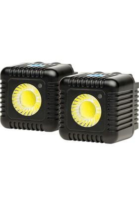 Lume Cube 1500 Lümen İkili Paket Led Işık Siyah