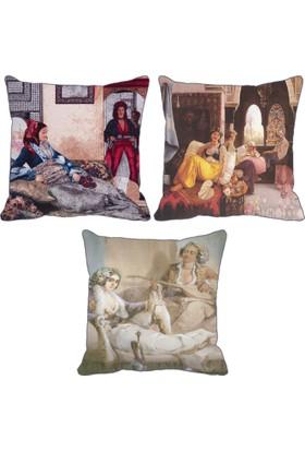 ZS Tekstil Üçlü Kırlent 184