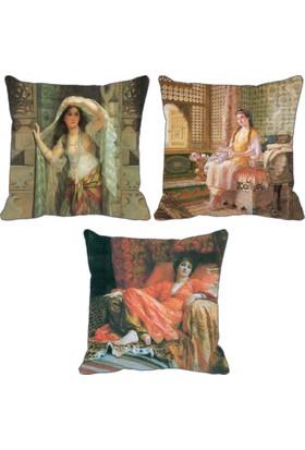 ZS Tekstil Üçlü Kırlent 168